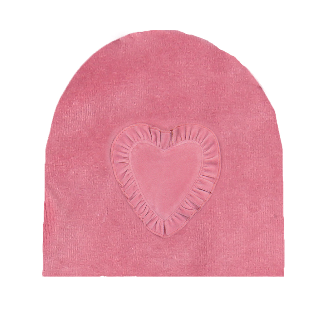 Load image into Gallery viewer, Heart Ruffle Beanie