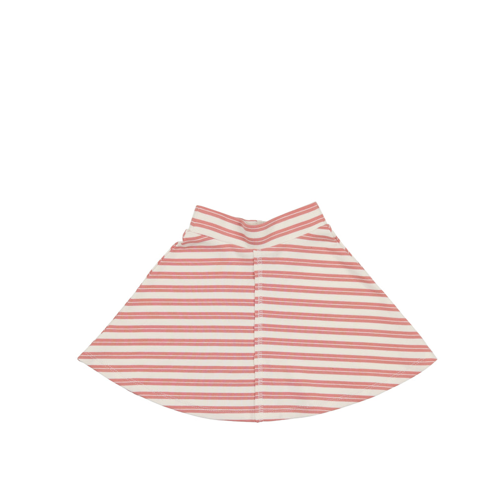 Horizontal Striped Skirt