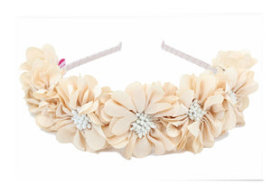 Load image into Gallery viewer, Jasmin-Flower-Band Headband Manière Ivory