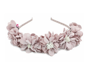 Load image into Gallery viewer, Jasmin-Flower-Band Headband Manière Lavender