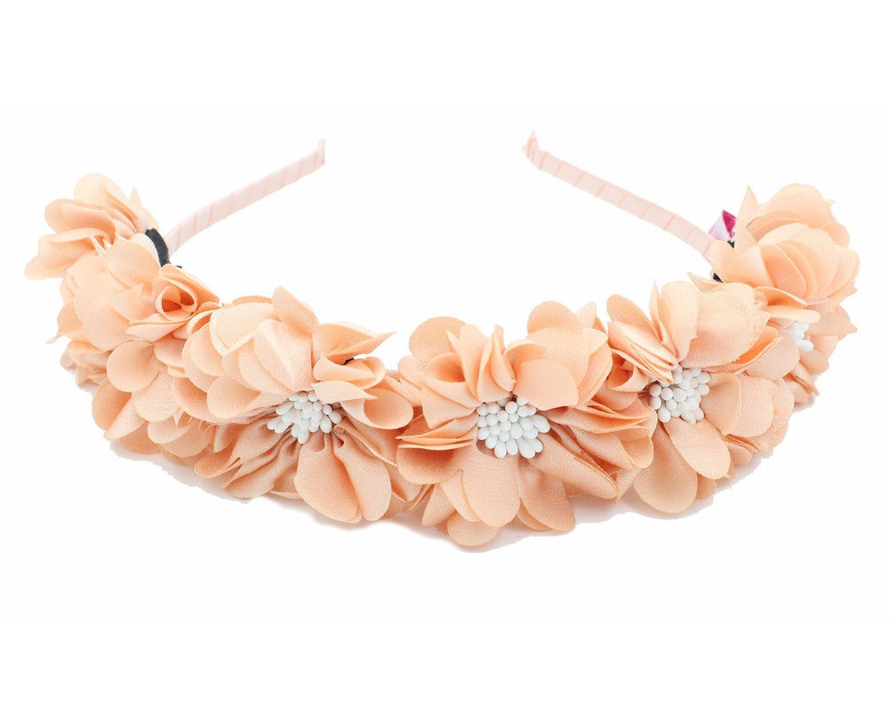 Load image into Gallery viewer, Jasmin-Flower-Band Headband Manière Peach