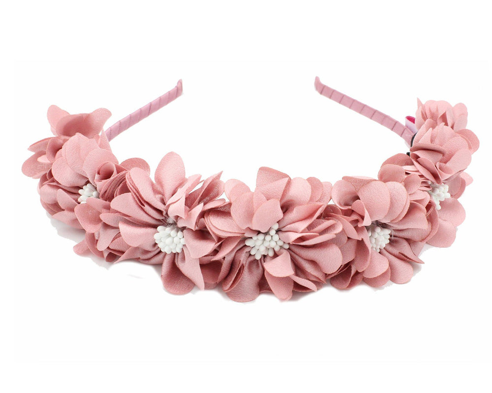 Load image into Gallery viewer, Jasmin-Flower-Band Headband Manière Pink