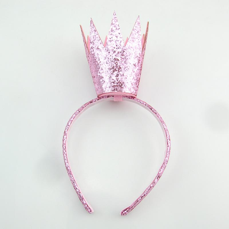 Load image into Gallery viewer, King Crown Headband Headband Manière Pink