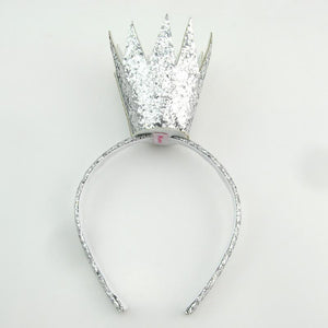 King Crown Headband Headband Manière Silver