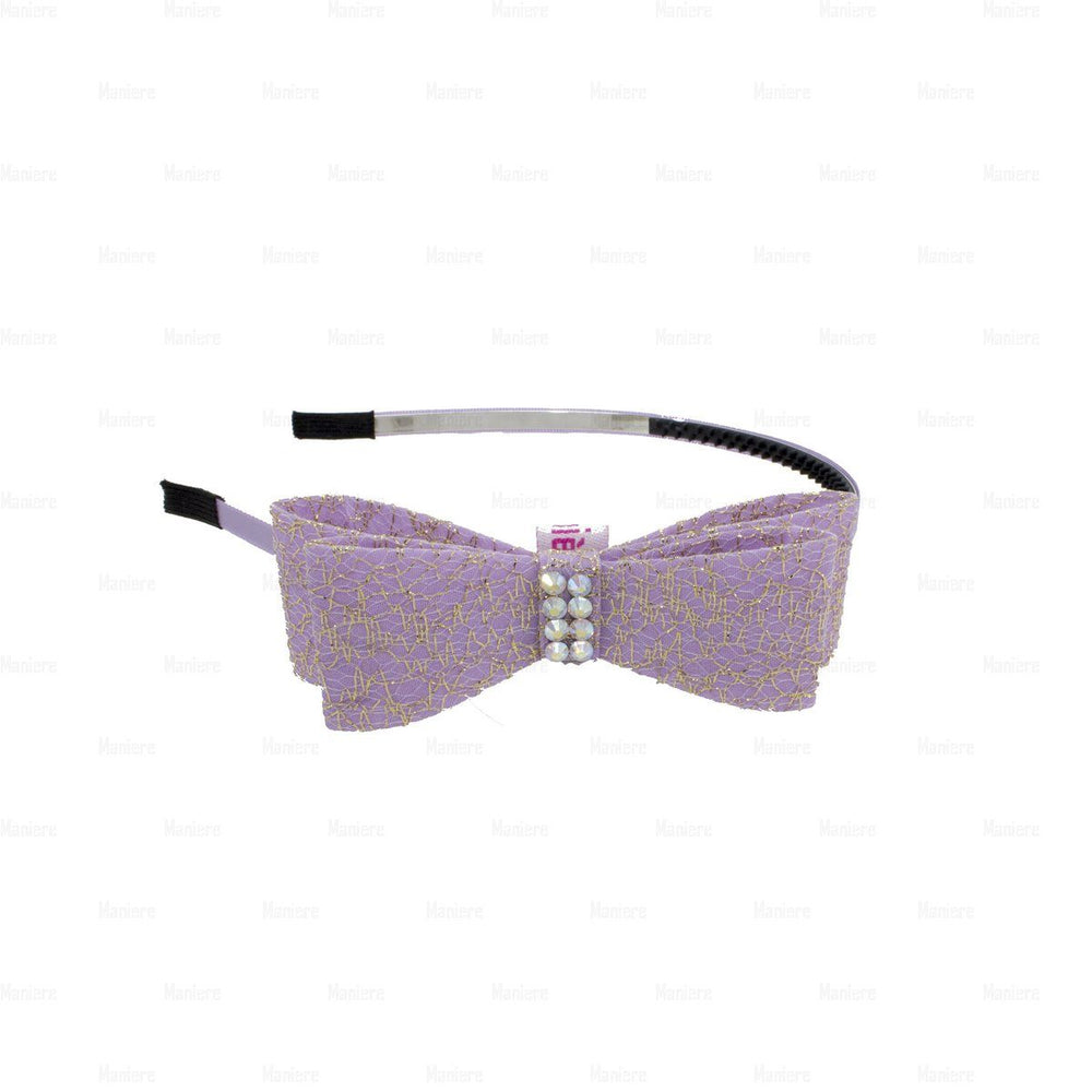 Midnight-Sparkle-Band Headband Manière Purple