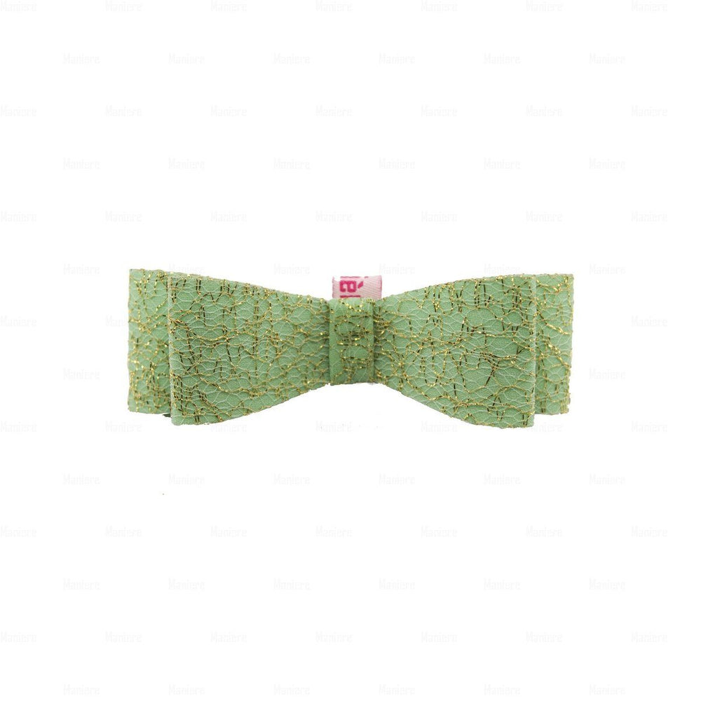 Midnight-Sparkle-Clip Hair Clip Manière Mint Green