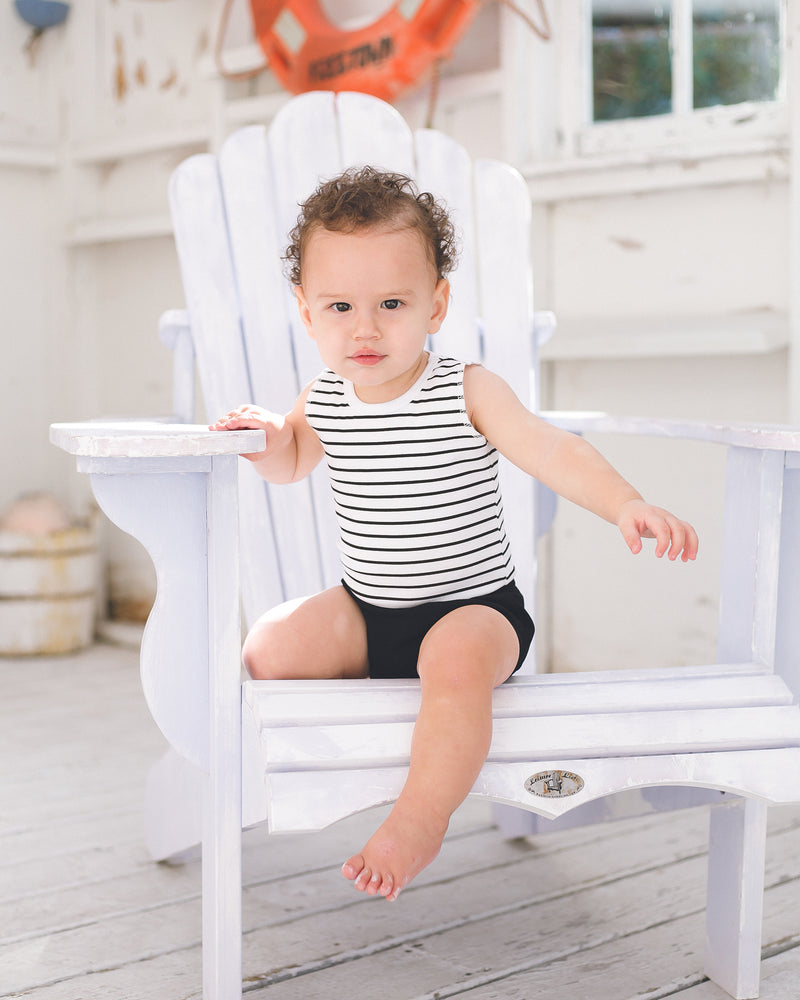 Boys Striped Top with Bloomer