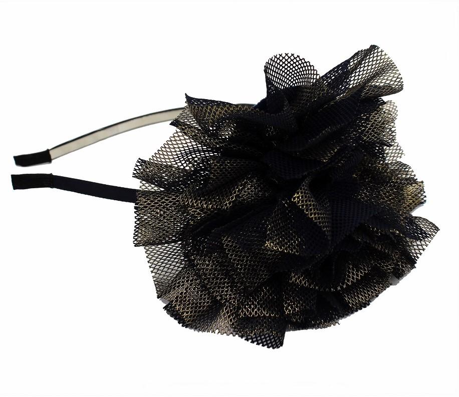 Load image into Gallery viewer, Mesh Foil Sparkle Headband Headband Maniere Accessories