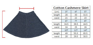 Load image into Gallery viewer, Cotton Cashmere Skirt