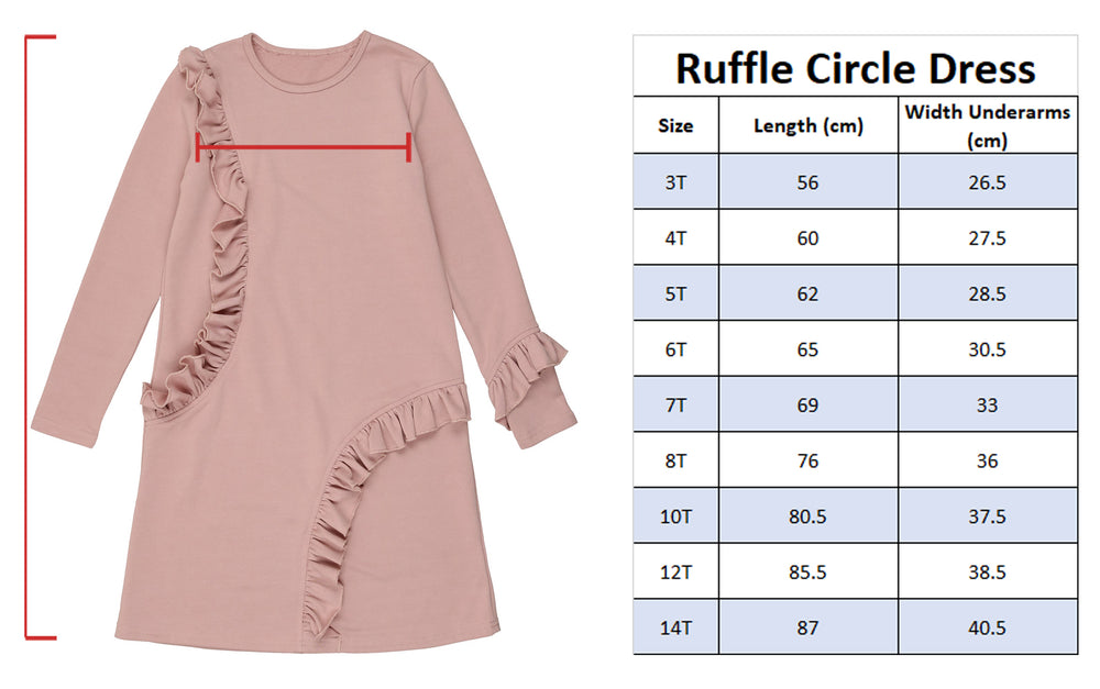 Load image into Gallery viewer, Ruffle Circle Dress