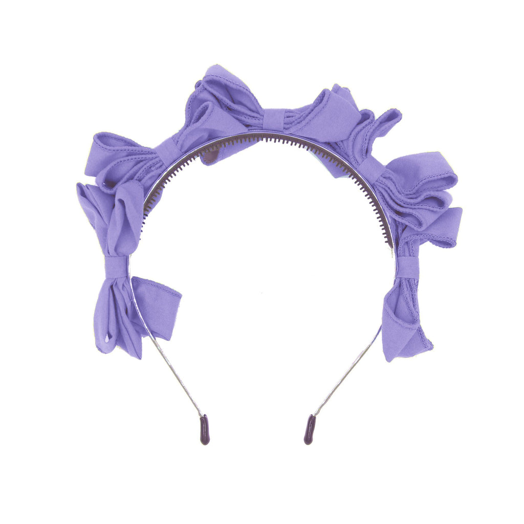Multi BowTie Band Headband Maniere Accessories Pale Purple