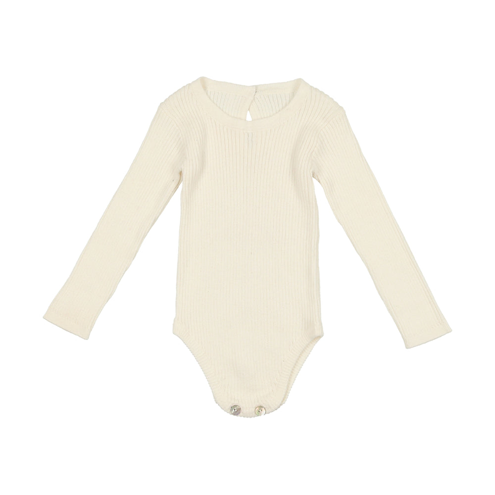 NooVèl, Boys Knit Shirt, Ivory
