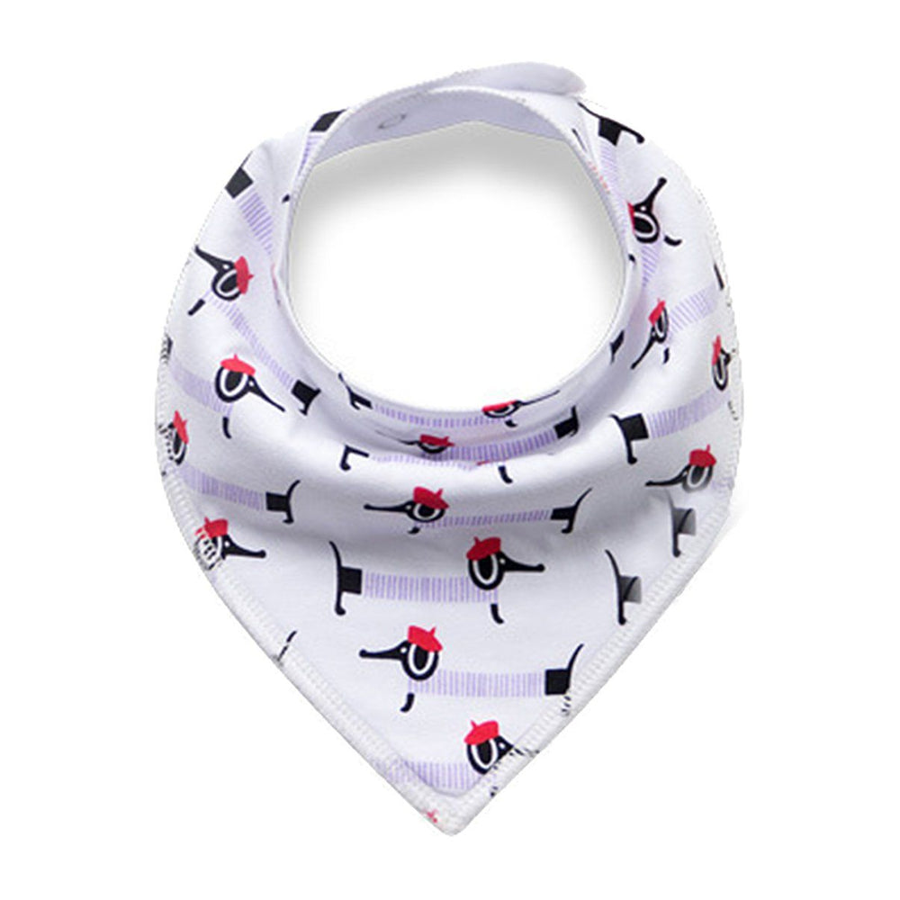 Load image into Gallery viewer, PBB1760-Print-Bandana-Bib Maniere