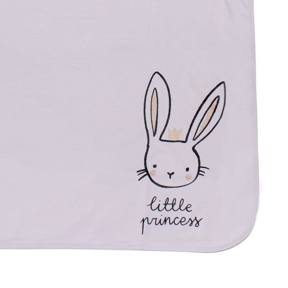 Print Cotton Blanket Baby Blanket Maniere Accessories Lavender