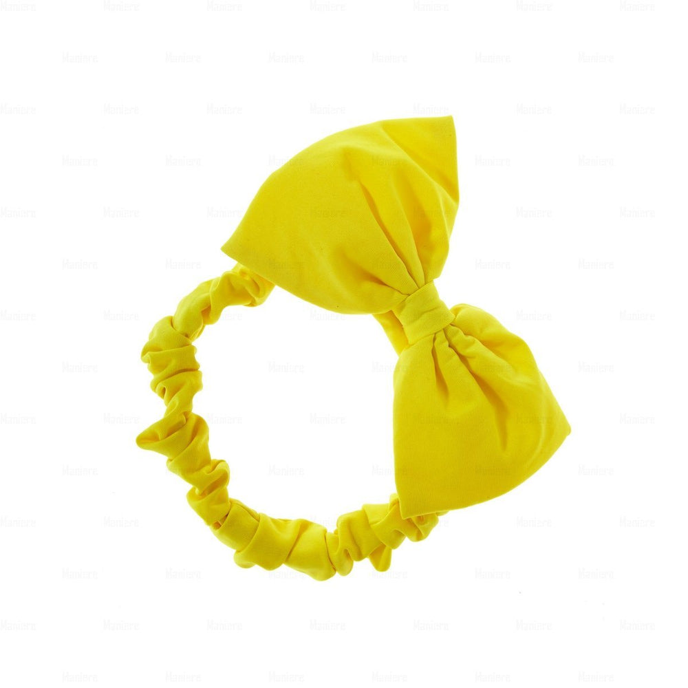 Quilted-Baby-Headwrap Headwrap Manière Yellow