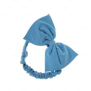 Quilted-Baby-Headwrap Headwrap Manière Blue