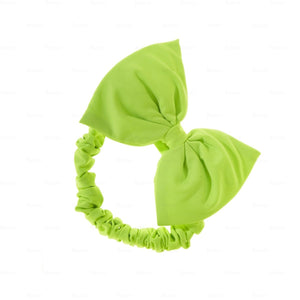 Quilted-Baby-Headwrap Headwrap Manière Green