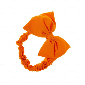 Quilted-Baby-Headwrap Headwrap Manière Orange