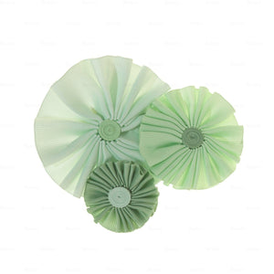 Ribbon Flower Clip Hair Clip Manière Mint Green