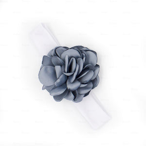 Load image into Gallery viewer, Rose-Petals-Baby-Headwraps Headwrap Manière Blue