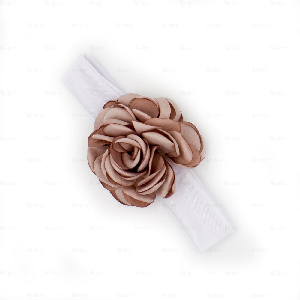 Load image into Gallery viewer, Rose-Petals-Baby-Headwraps Headwrap Manière Rose