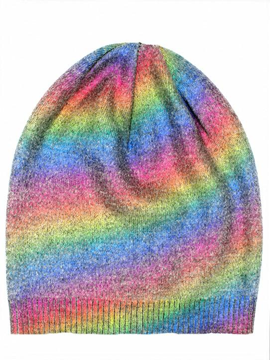 Rainbow Foil Hats Winter Hat Manière