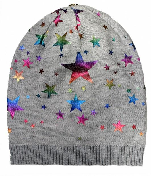 Load image into Gallery viewer, Rainbow Foil Hats Winter Hat Manière