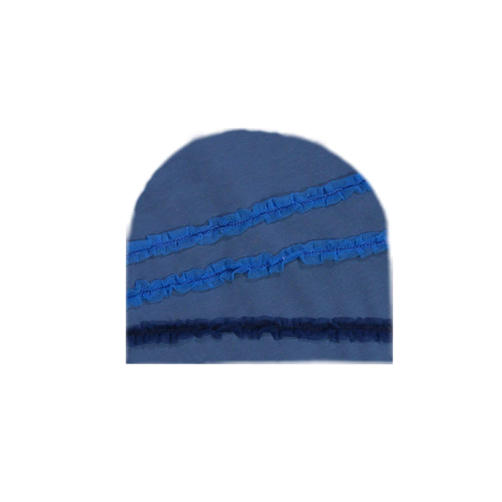 Rainbow Tulle Beanie (no pom) Maniere Accessories Blue XS