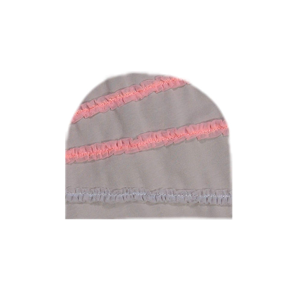 Load image into Gallery viewer, Rainbow Tulle Beanie (no pom) Maniere Accessories Grey XS