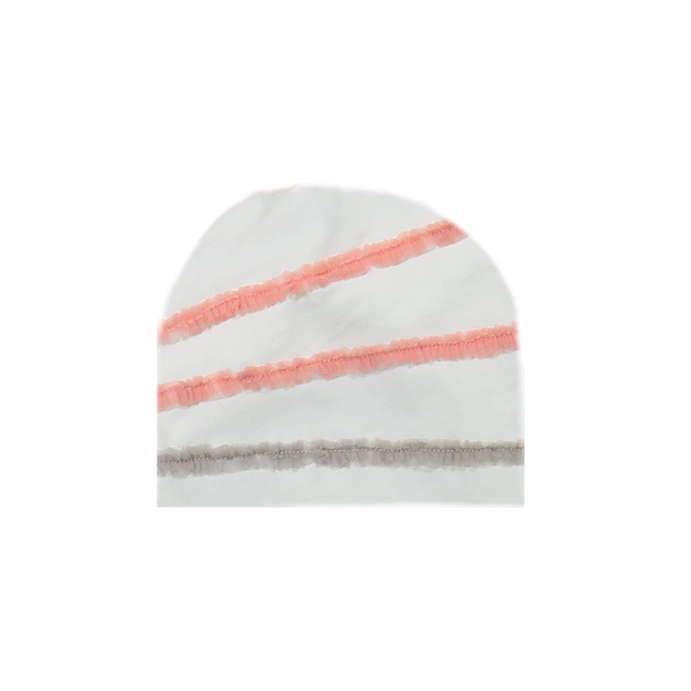 Load image into Gallery viewer, Rainbow Tulle Beanie (no pom) Maniere Accessories White XS