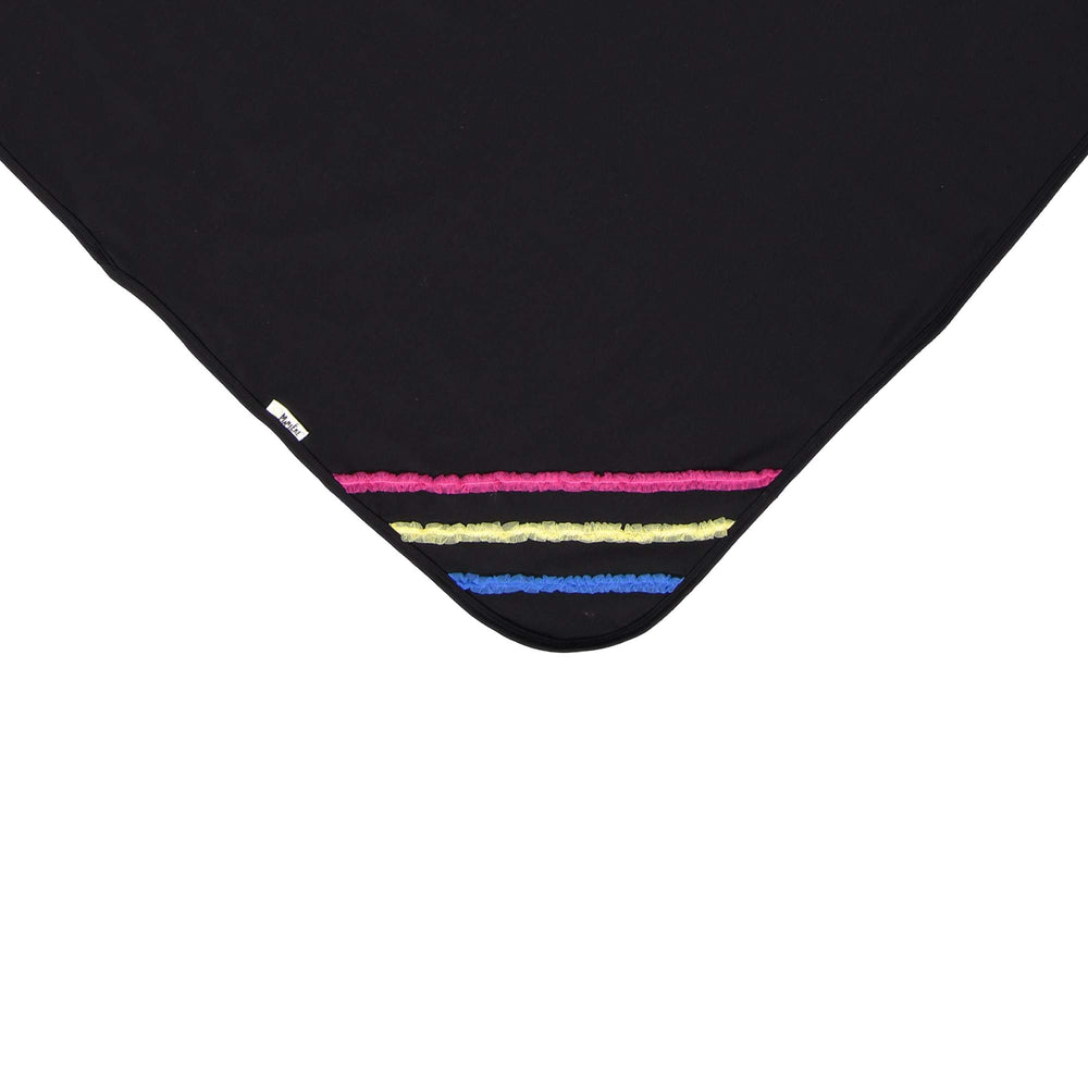 Rainbow Tulle Blanket Maniere Accessories Black