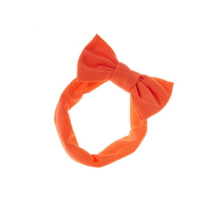 Load image into Gallery viewer, Stretch Bow Headwrap Headwrap Manière Coral