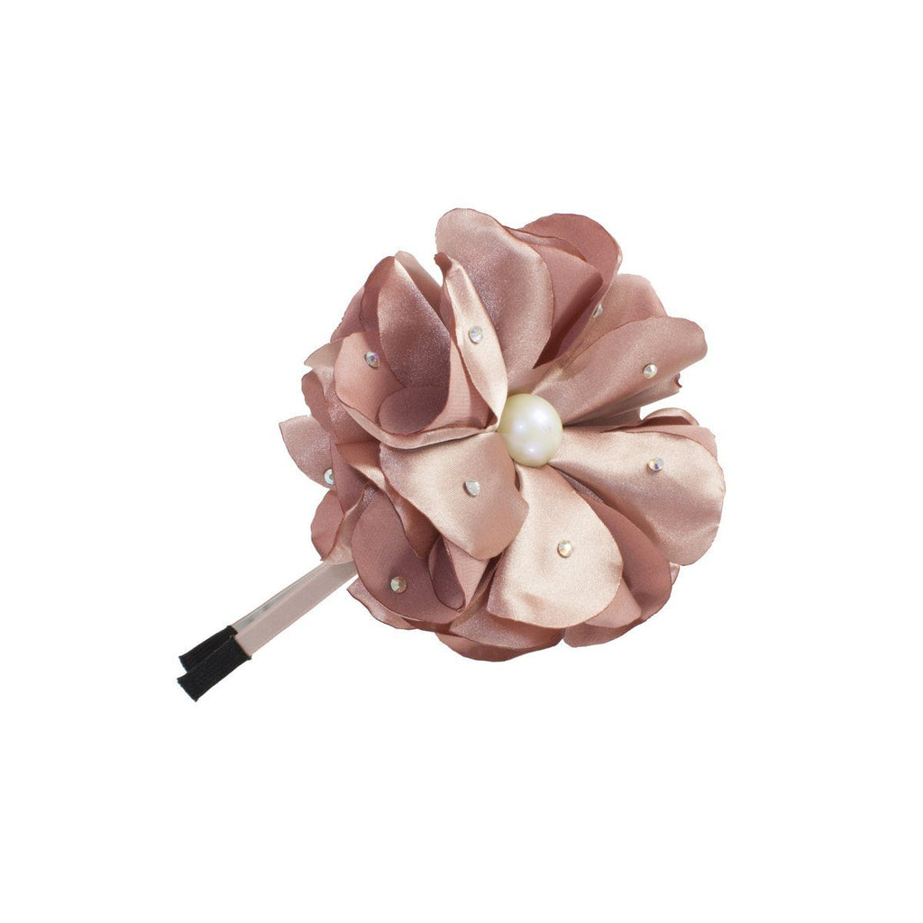 Sparkle Flower Headband Headband Manière Rose