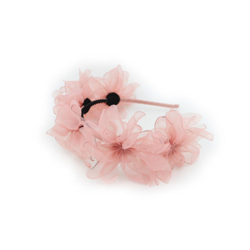 Sheer Flower Band Maniere Accessories