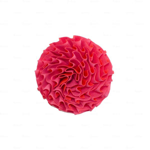 Load image into Gallery viewer, Flower-Puff-Clip Hair Clip Manière Coral