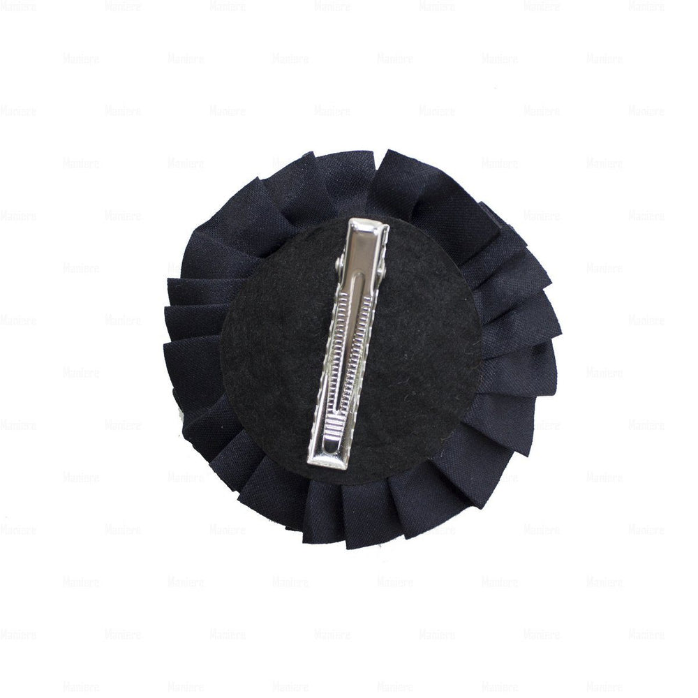 Load image into Gallery viewer, Flower-Puff-Clip Hair Clip Manière