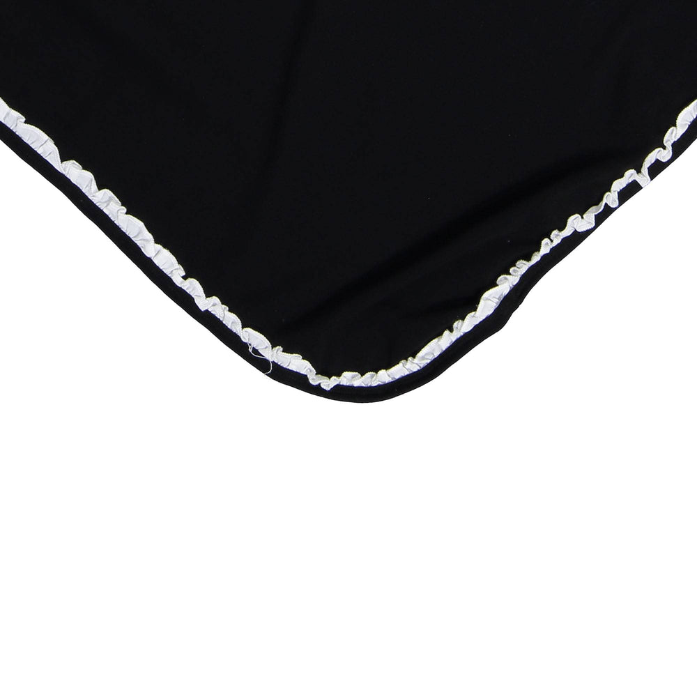 Side Poplin Blanket Maniere Accessories Black