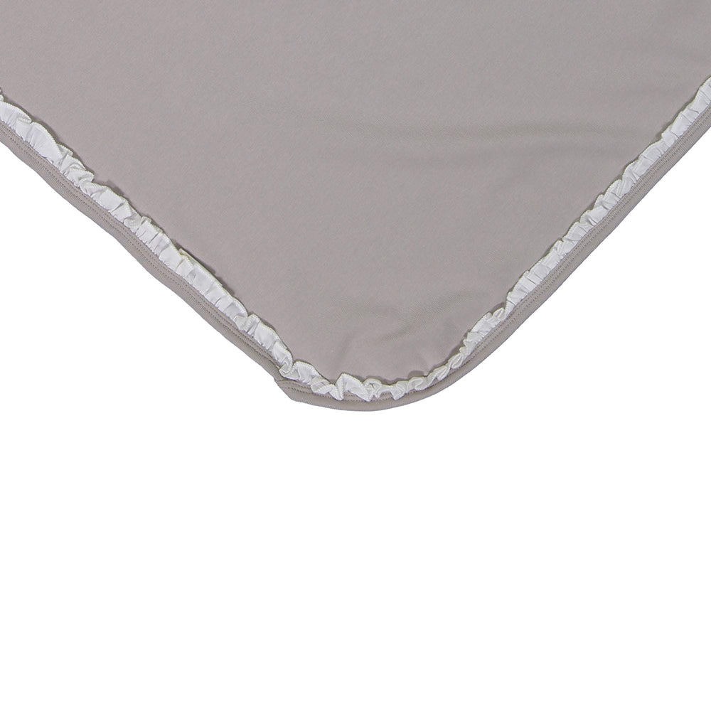 Load image into Gallery viewer, Side Poplin Blanket Maniere Accessories Grey
