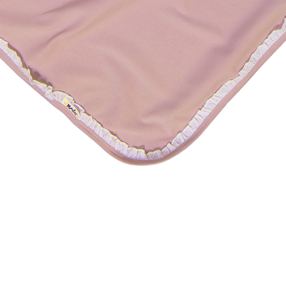 Side Poplin Blanket Maniere Accessories Mauve