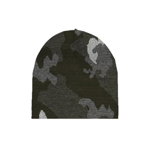 Load image into Gallery viewer, Sparkle Camo Pom Beanie