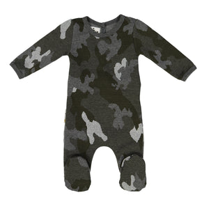 Sparkle Camo Footie