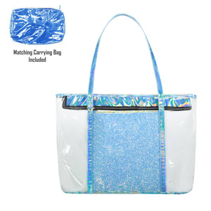 Load image into Gallery viewer, Sparkle Beach Bag Bags Maniere Accessories Blue