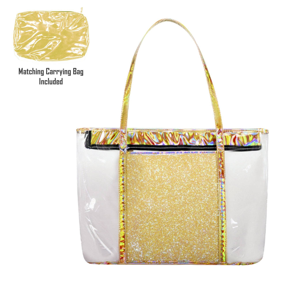 Load image into Gallery viewer, Sparkle Beach Bag Bags Maniere Accessories Gold