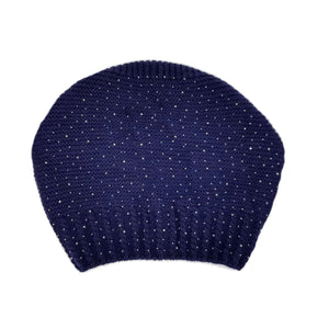Load image into Gallery viewer, Sparkle Slouch Wool Hat Winter Hat Manière
