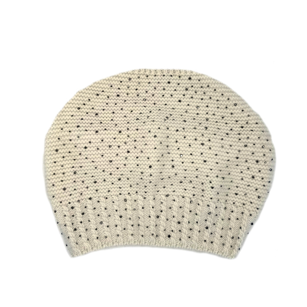 Sparkle Slouch Wool Hat Winter Hat Manière