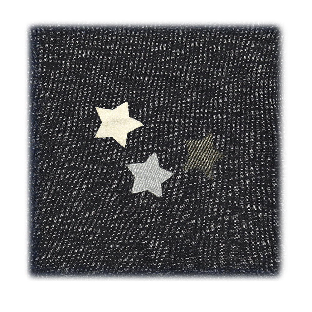 Load image into Gallery viewer, Star Applique Blanket Maniere Accessories Black