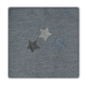 Load image into Gallery viewer, Star Applique Blanket Maniere Accessories Slate