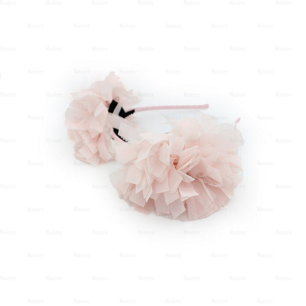 Tulle Double Flower Band