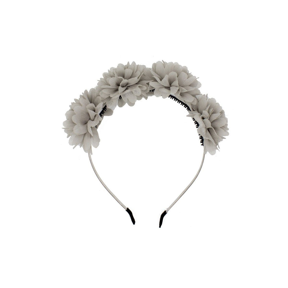 Load image into Gallery viewer, Thistle Flower Headband Headband Manière Dusty Grey