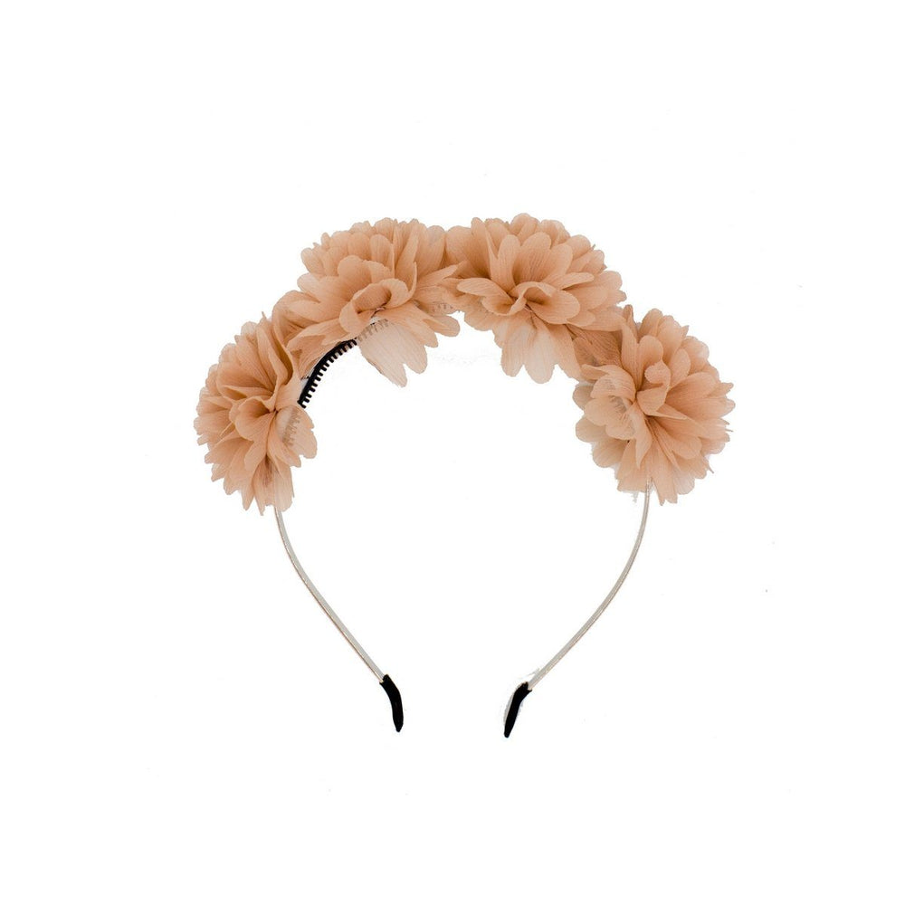 Load image into Gallery viewer, Thistle Flower Headband Headband Manière Peach